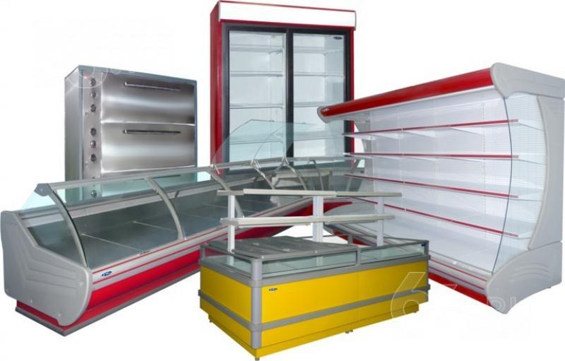 Торговое холодильное оборудование для магазина продуктов